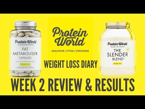 Protein World Review Week 2 | Donna Dyble Weight Loss Diary