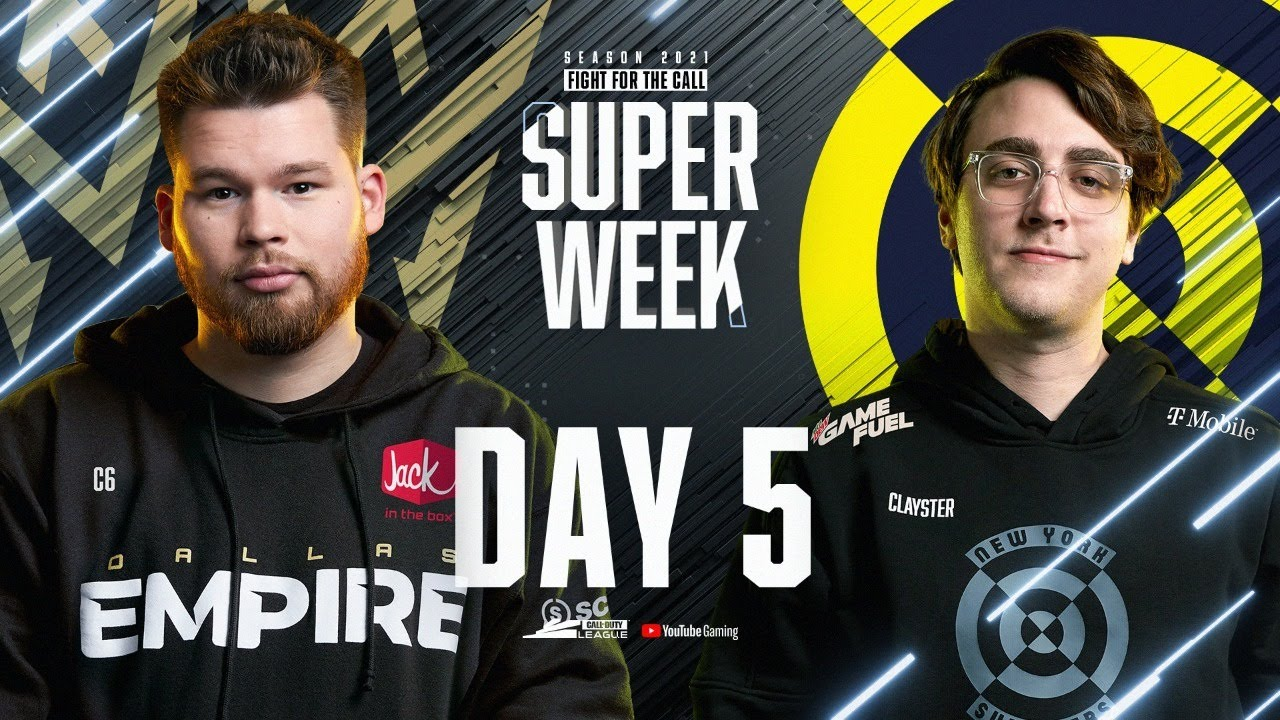 Call Of Duty League 2021 Season | Stage I Super Week | Day 5