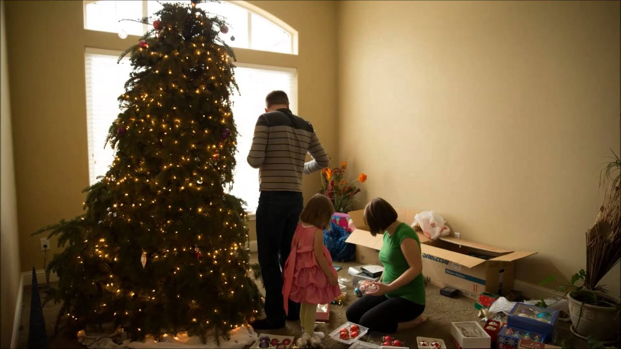 taking down christmas tree in 30 seconds - When To Take Christmas Tree Down