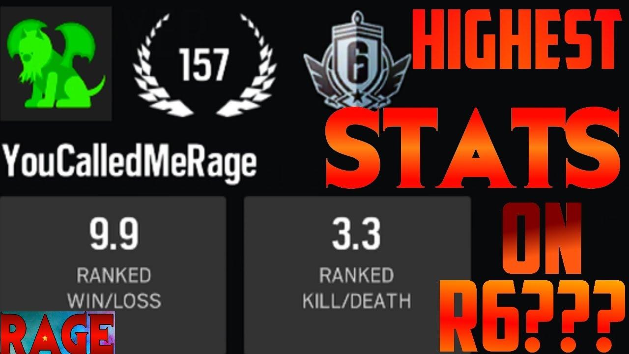 Rainbow Six Siege Stats - MES STATS (VS LES PROS ...