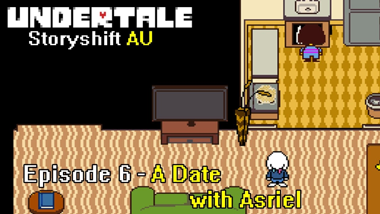 Storyshift Episode 6 A Date With Asrielundertale Comic Dub