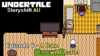 Storyshift: Episode 6 - A Date with Asriel(Undertale Comic Dub)
