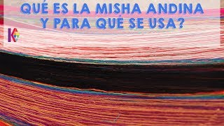 Pt1 Qué es la Misha Andina y para qué se usa? Nuevo video Extracto del curso Online Enqa