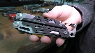 New Leatherman Signal, Tread, and More: SHOT Show 2015