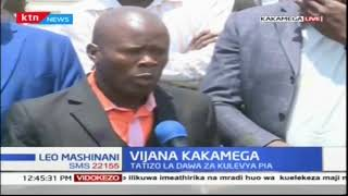 Vijana wa Kakamega wakutana kujadili tatizo la dawa za kulevya