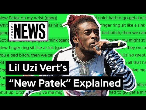 "Lil Uzi Vert's ""New Patek"" Explained 