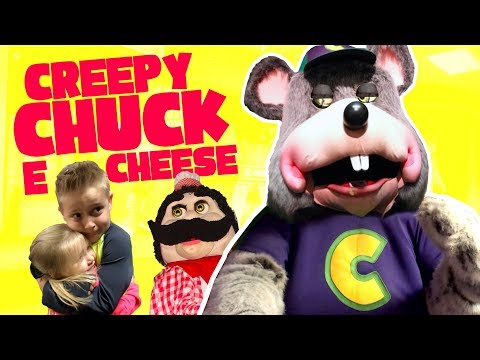Kids Meet CREEPY Chuck E Cheese! Arcade Games and Family Fun!