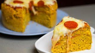 Pizza Cake | Foodbeast Kitchen
