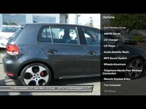 2012 Volkswagen GTI Garden Grove CA 17201