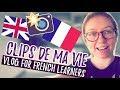 Clips vidéo de ma vie, semaine #2 - L'imparfait & Passé Composé - English & French subtitles