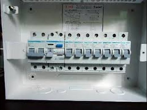 How To Wire A Single Pole Switch Diagram Vdo Electronic Tachometer Wiring Make Distribution Board Simple Way Of Explaining New 2017 - Youtube