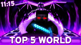 (TOP 5 WORLD) TO MÓGŁ BYĆ REKORD ŚWIATA... (11:15) | MINECRAFT SPEEDRUN ICARUS 1.16.1 RSG