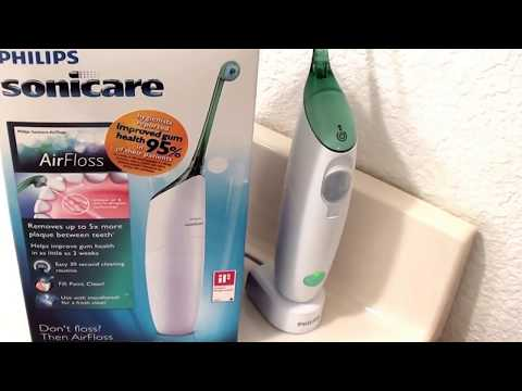philips airfloss an easier way to floss funnycat tv. Black Bedroom Furniture Sets. Home Design Ideas