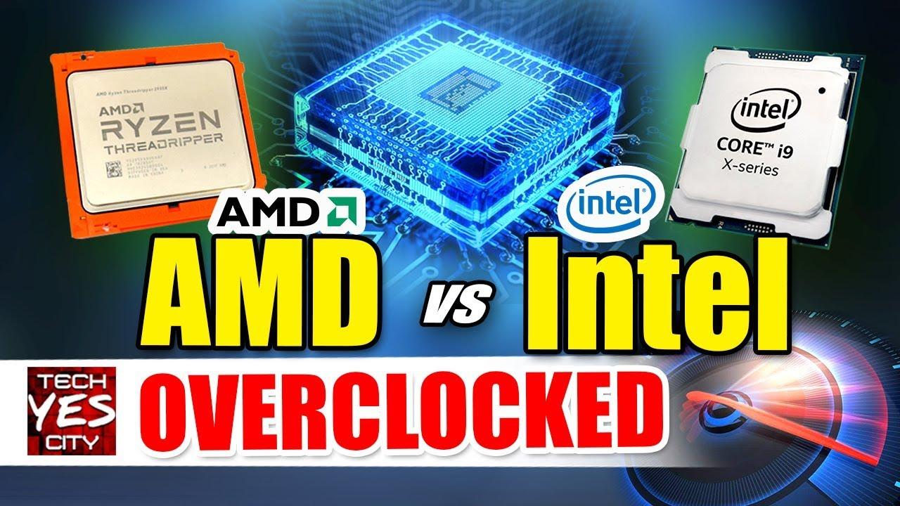 i9-9980XE Vs  Threadripper 2990WX - OVERCLOCKED Review (CorePrio Fixed)