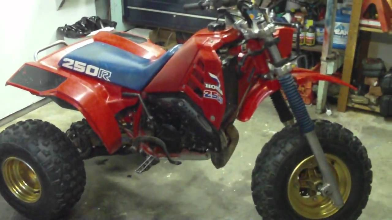 Barn find 1985 atc 250r three wheeler all original condition barn find 1985 atc 250r three wheeler all original condition sitting since 1991 youtube sciox Image collections