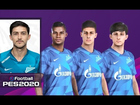 EFootball Pes 2020 Zenit Faces & Overalls | PS4