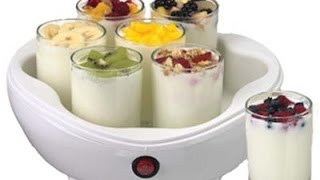 Приготовление домашнего йогурта с помощью йогуртницы