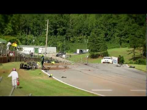 Full Contact - Scott Sharp crash - ALMS - Tequila Patron - ESPN - Racing - Sports Cars - USCR