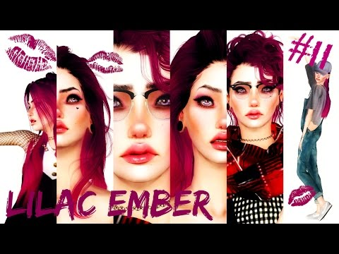 Sims 3 || CAS #11: Lilac Ember - Hipster + DOWNLOAD