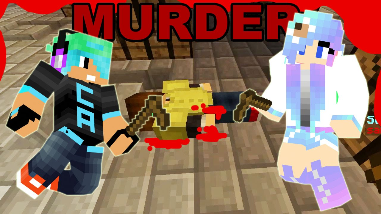 Minecraft / Murder Mystery Mini Game / CookieSwirlC