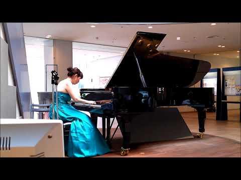 Yumiko Onda, August 23. 2017. Lobby Concert in Ota.