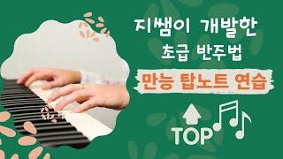 [인강 맛보기] 지쌤이 개발한 초급 반주법 만능 탑노트 전위연습 by지미경