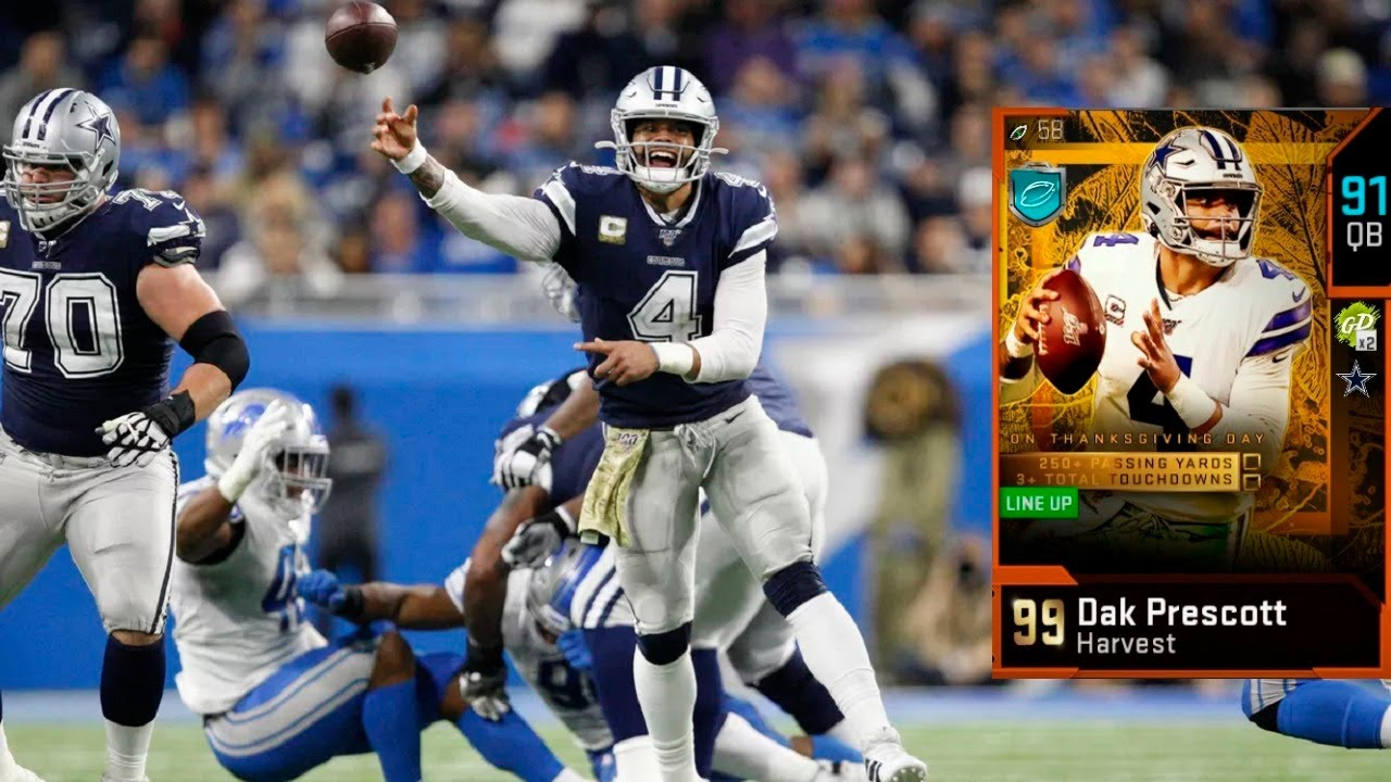 Can 91 Dak Prescott Be Used By Anyone Besides Dallas Fans Madden 20 Gameplay Youtube
