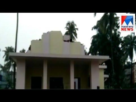 Huge loss and few injured in Rain in Kunnamkulam | Manorama News