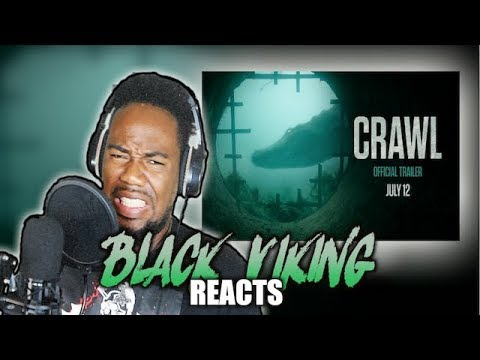 Crawl 2019 – Official Trailer – Paramount Pictures BLACK VIKING REACTS