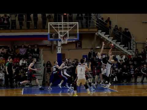 БК «Барнаул» - «Металлург» (Магнитогорск). 1-й матч.  Суперлига-2. Плей-офф.  ½ финала.