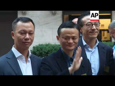 Alibaba: Jack Ma to step down as chairman in September 2019