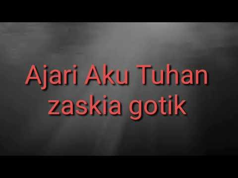 Ajari Aku Tuhan - Karaoke Lirik Arrasemen  Deminlaksana