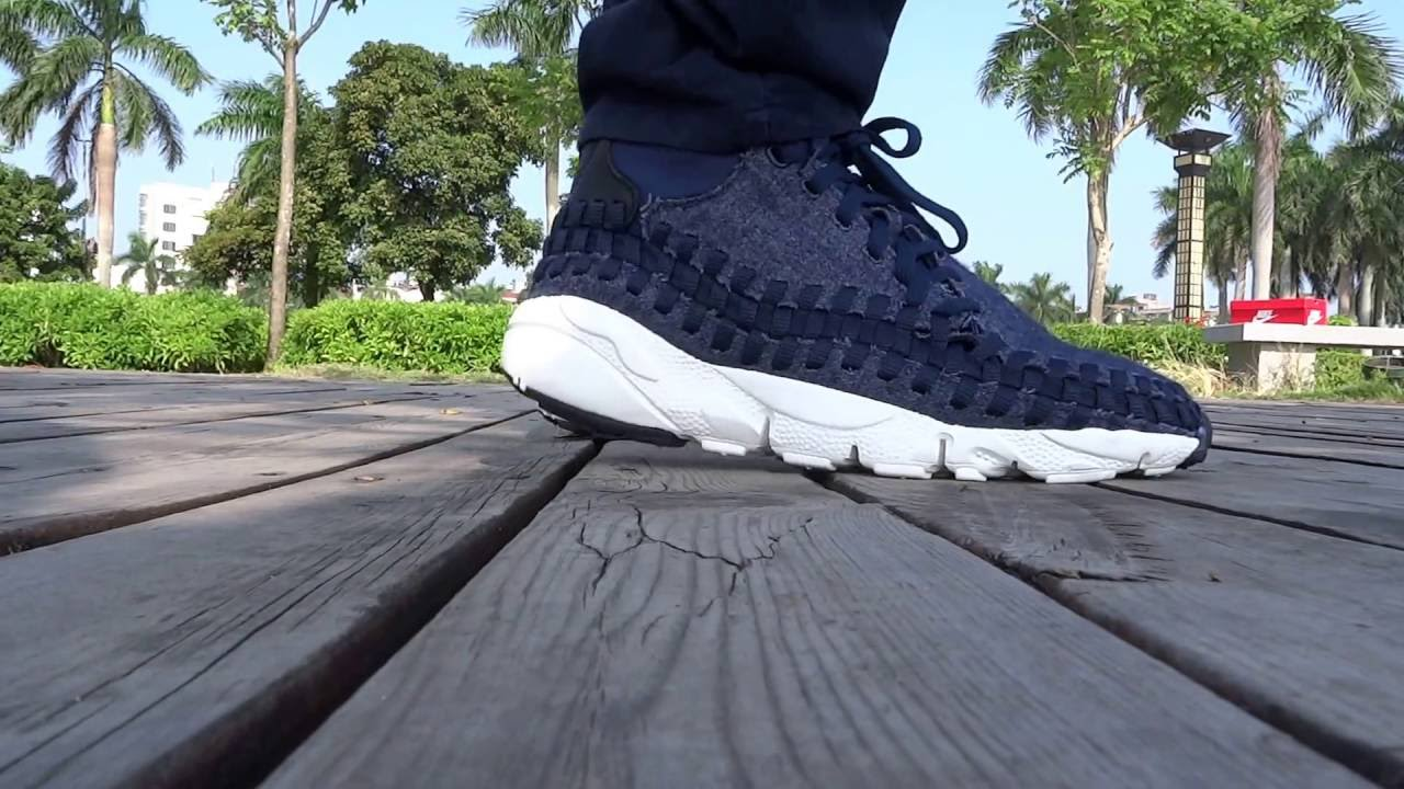 pretty nice 7bb3d c776f Nike Air Footscape Woven Chukka SE on foot