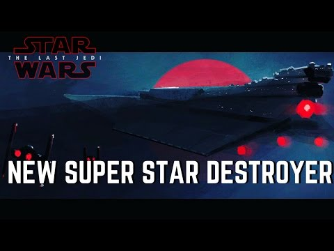 "Episode 8's ""Mega"" Super Star Destroyer 