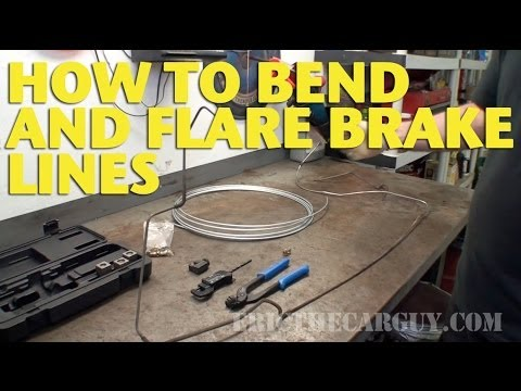 How To Bend and Flare Brake Lines -EricTheCarGuy