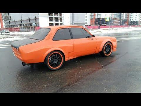 Opel Kadett зимний дрифт