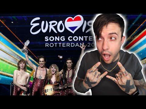 Måneskin – Zitti E Buoni (eurovision) REACTION