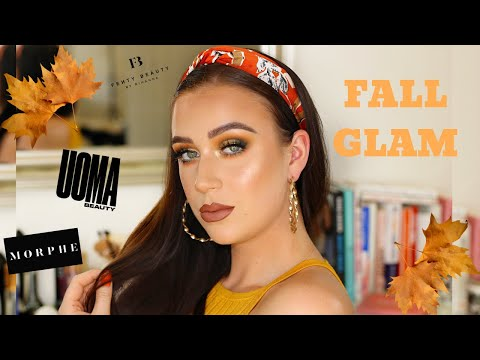 FALL / AUTUMN MAKEUP LOOK | GREEN & GOLD EYESHADOW