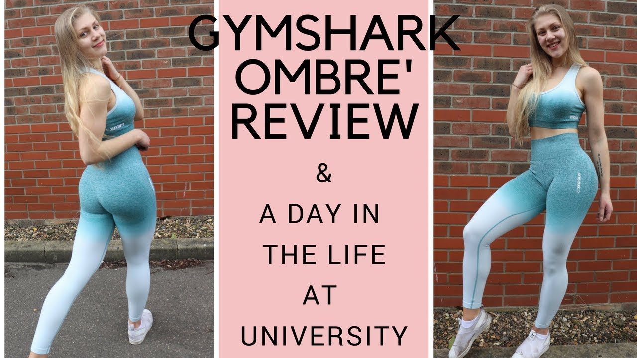 b1919994eb NEW GYMSHARK OMBRE REVIEW   A UNI DAY IN THE LIFE