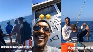 Kawhi Leonard, Paul George, and the LA Clippers Go Deep Sea Fishing
