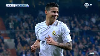 James Rodriguez vs Espanyol Home (31/01/2016) by JamesR10™