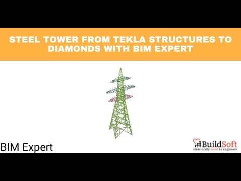 BIM software for exchanging models between Diamonds and Tekla