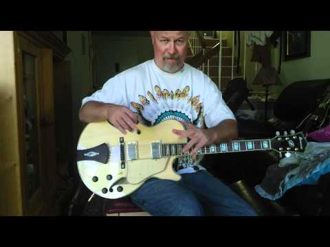 Ibanez Jazz Guitar  105 Great  Tone Sold