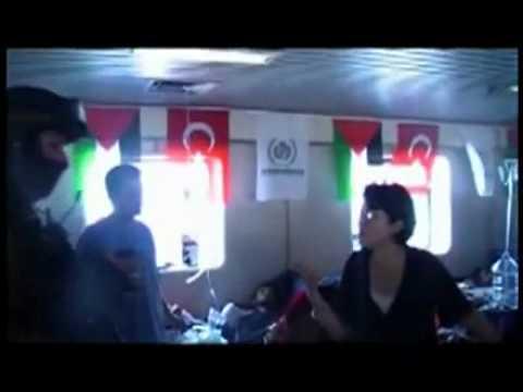 Video shows Haneen Zoabi with armed Marmara activists (IHH terror group).flv