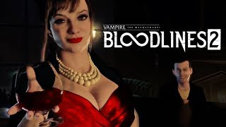 Vampire The Masquerade Bloodlines 2 анонсный трейлер на русском