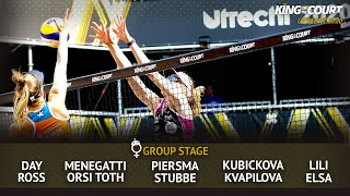 Women's Group Stage A - Session 5 | Beach Volleyball | King of the Court Utrecht 2020