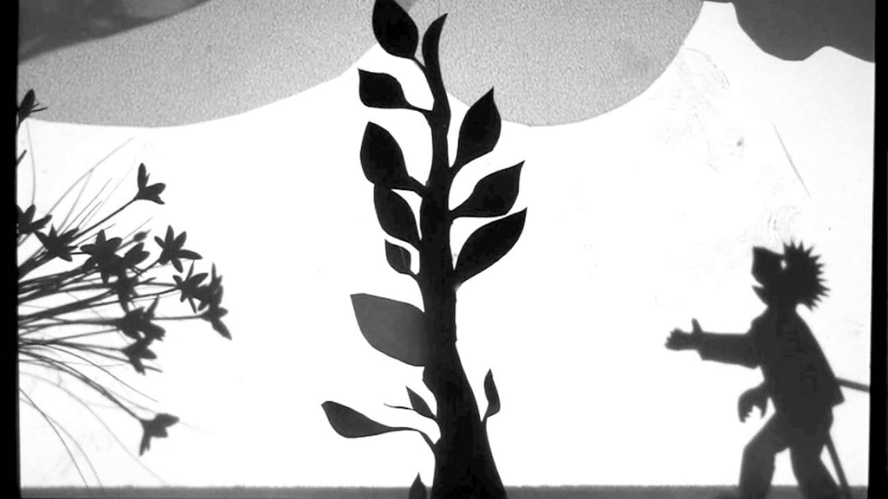 Jack & the Beanstalk, Film-making shadow puppets movie, Somersham ...