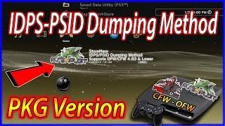 PS3 StoreHaxx 4.83 IDPS-PSID Dumping Method PKG Version  ALL CONSOLES