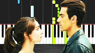 Siyah Beyaz Aşk - Seni Seviyorum - Piano Tutorial by VN