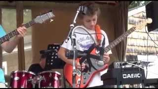 christen morrissey and her band j squared plus 2 first live gig